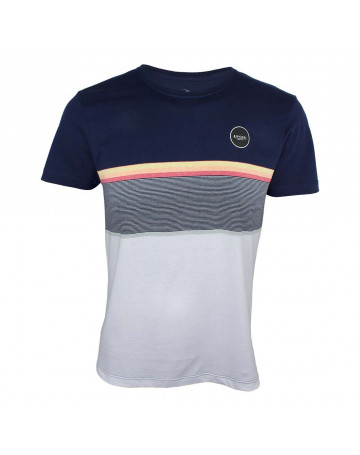 Camiseta Rip Curl Rapture - Azul Branco  d851a36dc8e