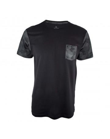 Camiseta Rip Curl Medina Block - Preto