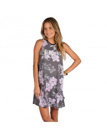 Vestido Rip Curl Nalu Corp - Cinza/Floral