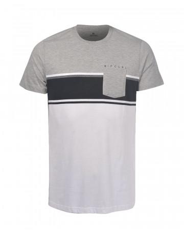 Camiseta Rip Curl Esp Under - Cinza/Branco
