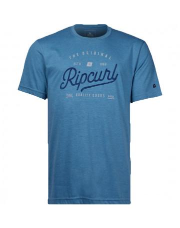 Camiseta Rip Curl Café - Azul Mescla