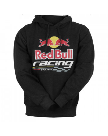 Moletom Red Bull Racing - Chumbo  e14406eb376