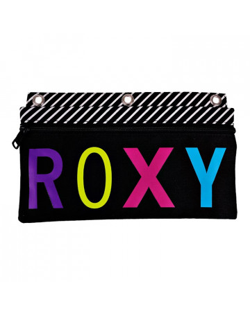Estojo Roxy Pals True Blk