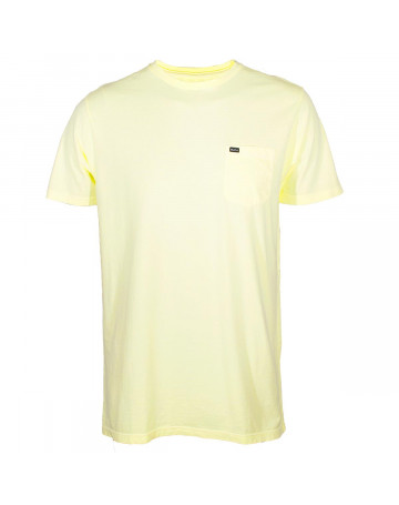 Camiseta Rvca PTC Fade I - Amarelo
