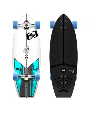 Skate Surfeeling Bone Breaker Jessé Mendes Signature - Branco
