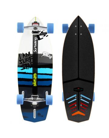 Skate Surfeeling Diamond New - Branco/Azul
