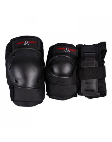Kit Proteção Triple Eight Adulto