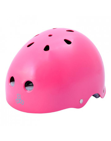 Capacete Triple Eight Pinkgloss