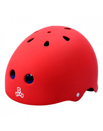 Capacete Triple Eight Brain Red