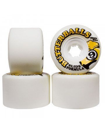 Roda Sector Nine Butterballs 70mm - Branco