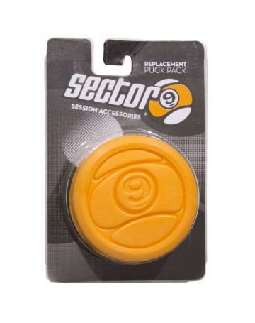 Protetor de Luva Sector Nine Slide Puck BLK 2 Circular - Amarelo
