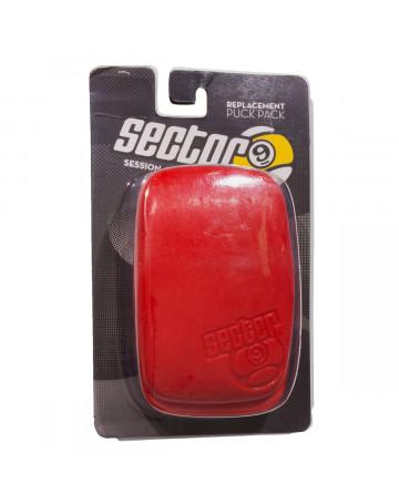 Protetor de Luva Sector Nine Slide Puck Ergo 2 - Vermelho