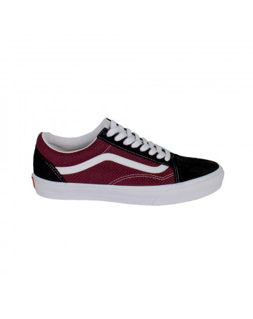 Tênis Vans Old Skool Black Port Royale - Preto Vinho