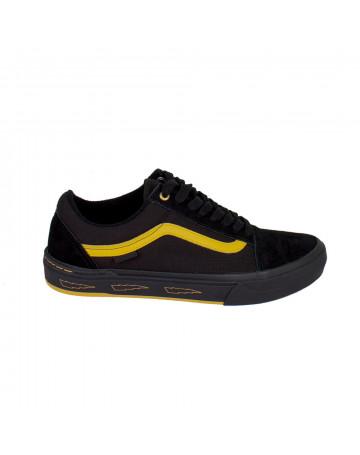 Tênis Vans Old Skool Pro Bmx - Preto/Amarelo