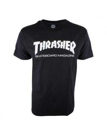 Camiseta Thrasher Magazine Preta
