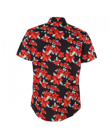 Camisa Grizzly Button Preta