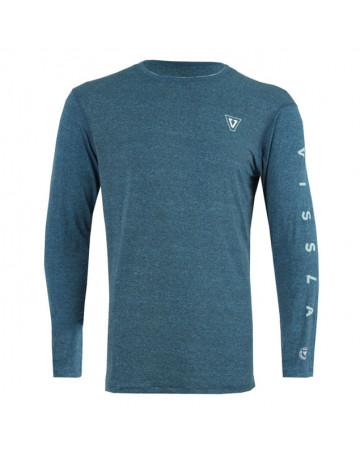 Camiseta Vissla Lycra All Times - Azul