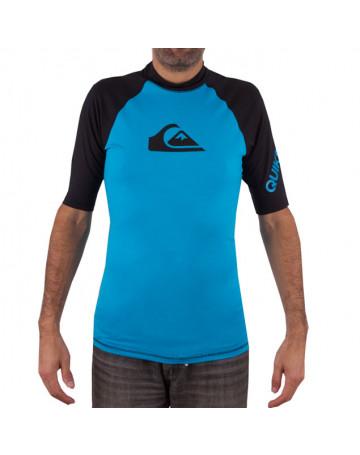 Camiseta Quiksilver Lycra All Times - Azul