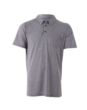 Camisa Polo Rip Curl First Class Cinza