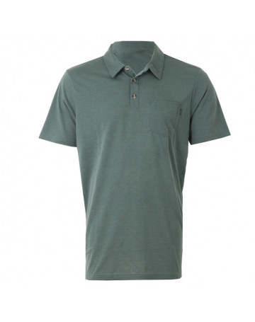 Camisa Polo Rip Curl First Class - Verde