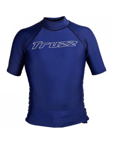Camiseta Lycra Truzz Simple Mark Azul