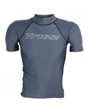 Camiseta Lycra Truzz Simple Mark - Cinza