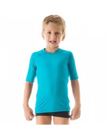 Camiseta UV Line UvPro Infantil MC - Azul
