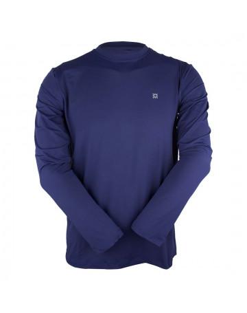 Camiseta UV Line Lycra Pro - Azul