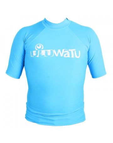 Camiseta Uluwatu Lycra - Azul