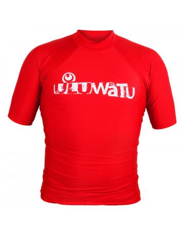 Camiseta Uluwatu Lycra - Vermelho