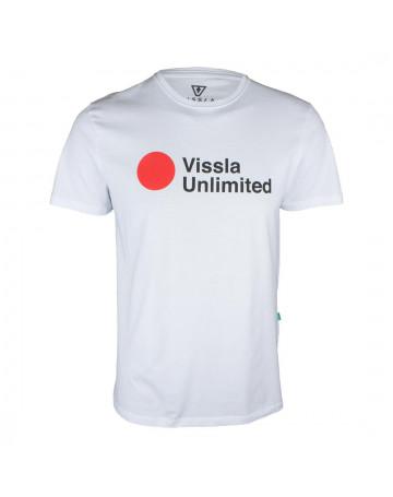Camiseta Vissla Tsunami Branca