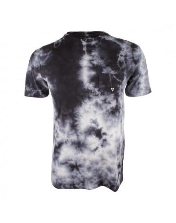 Camiseta Vissla Tie Dye Calipher Embroidery Preta