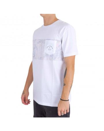 Camiseta Vissla Tropical Maui Branca