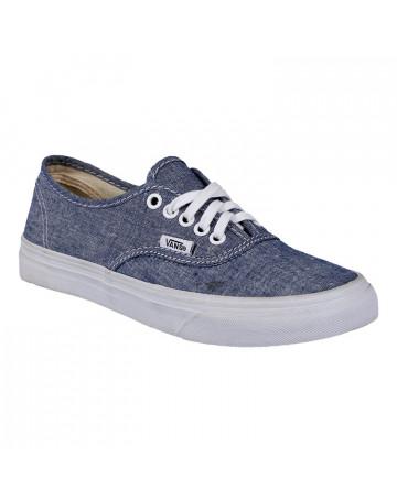 b28cd6b40f6 Tênis Vans Authentic Slim - Jeans
