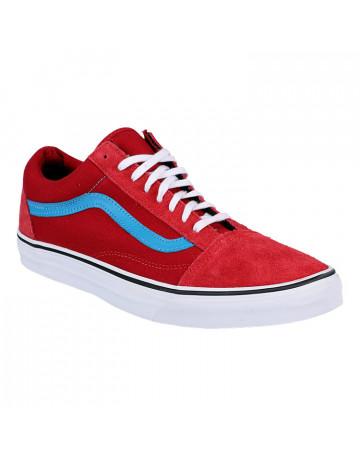 009491deda345 Tênis Vans Old Skool - Vermelho Azul
