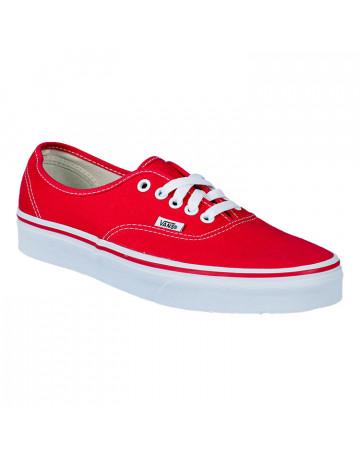 Tênis Vans Authentic - Vermelho (Infantil)
