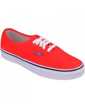 1e8b1f06b83 Tênis Vans Authentic Pop Neon - Coral