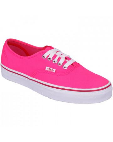 fed2b863aa Tênis Vans Authentic Pop Neon - Pink