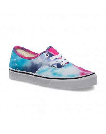 Tênis Vans Authentic Tie Dye - Azul  8d22d64358a43
