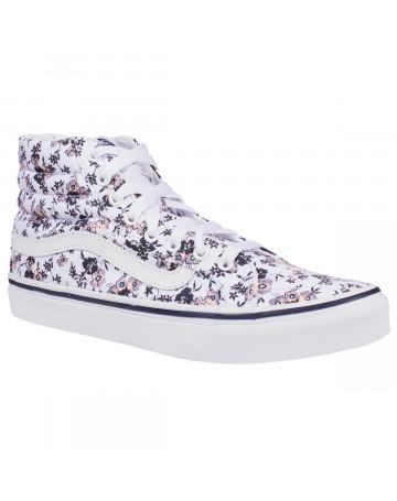 Tênis Vans SK8-Hi Slim Ditsy Bloom - True White  95d2556882c2d