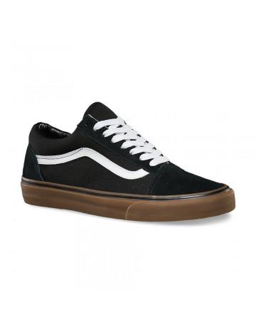 Tênis Vans Old Skool - Preto/Gum