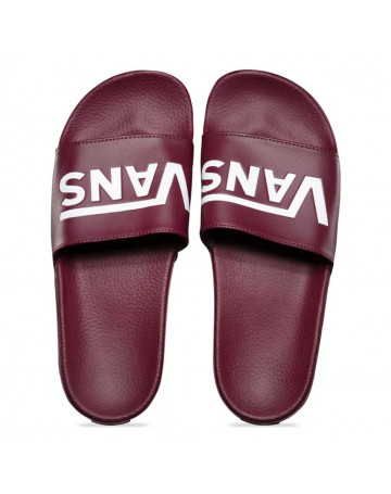Chinelo Vans Slide-on - Vinho