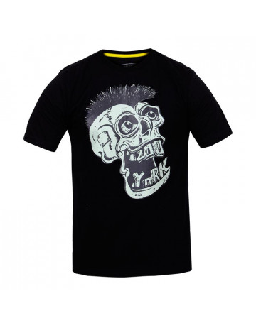 Camiseta Zoo York Punk Skull - Preto