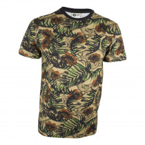 Camiseta MCD Full Tropical Bones - Marrom Floral 9012817e4cafd