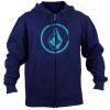 Moletom Volcom Cang Ab Single Zi - Azul