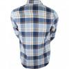 Camisa Volcom Xadrez Caden Plaid Azul 2