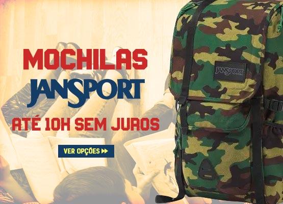 Volta às Aulas Julho 2019 - Mochilas Jansport em oferta