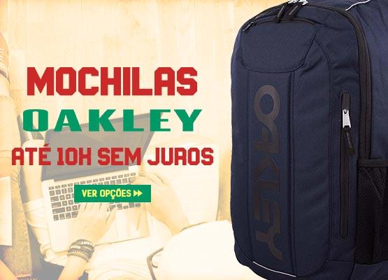 Volta às Aulas Julho 2019 - Mochilas Oakley em oferta
