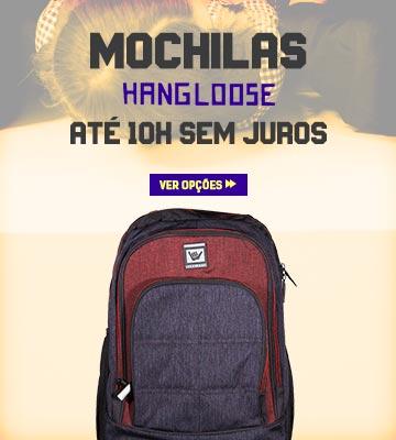 Volta às Aulas Julho 2019 - Mochilas Hang Loose em oferta
