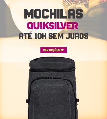 Volta às Aulas Julho 2019 - Mochila Quiksilver em oferta